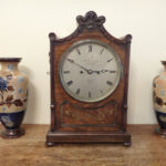 clock-and-vases